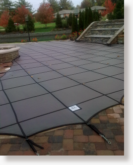 Mesh Safety Pool Covers by Rayner