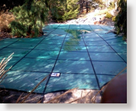 Solid Vinyl Pool Covers by Rayner